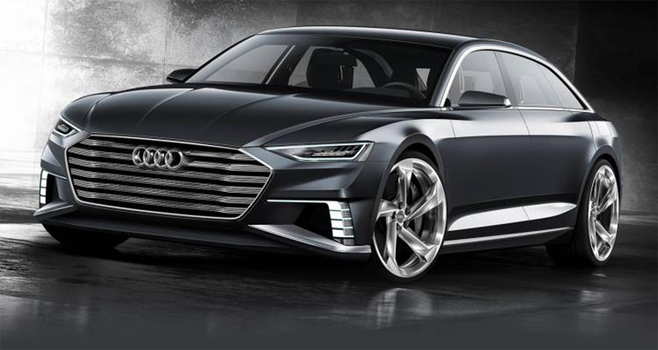 Audi A-9 e-tron Tesla Rival Front View